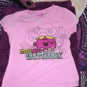 """Girls """"little miss"""" tee shirt"""